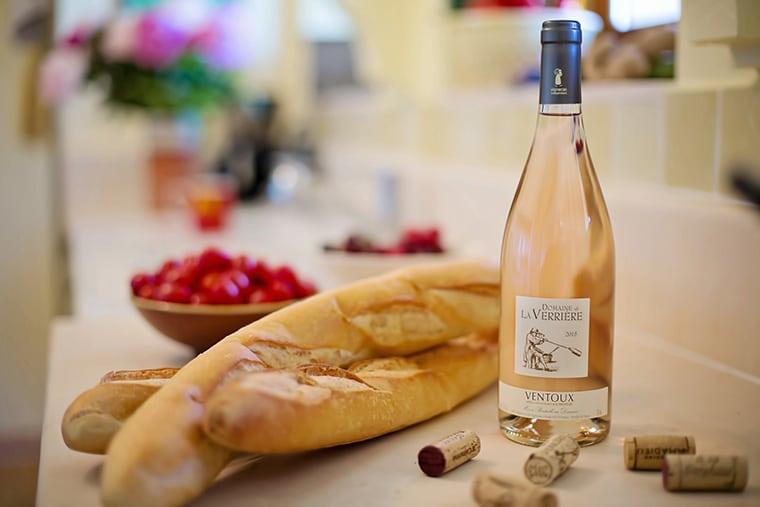 Vin français de qualité